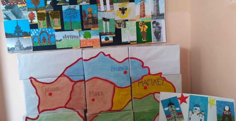 Открытие выставки студенческих творческих работ «Силуэты города»
